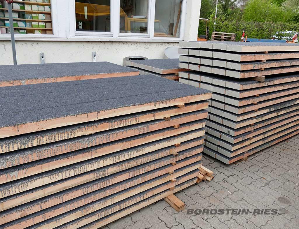Holzbrücken Rutschfestigkeit Beschichtung