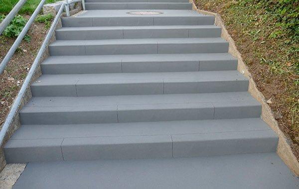 Treppensanierung von Betontreppen