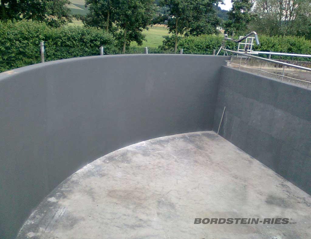 Beschichtung & Sanierung von Klärbecken / Kläranlagen