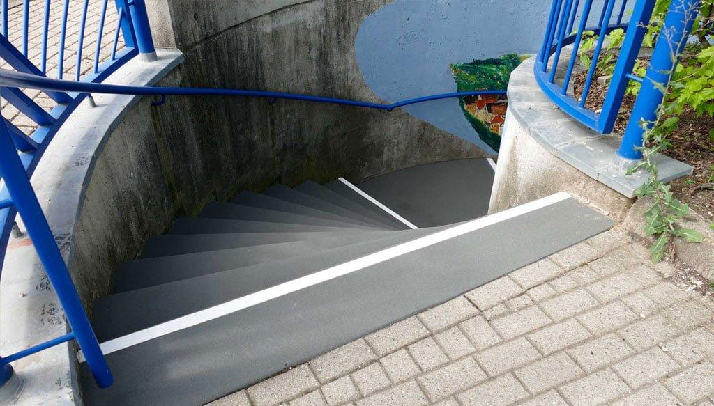 Treppen Markierungen